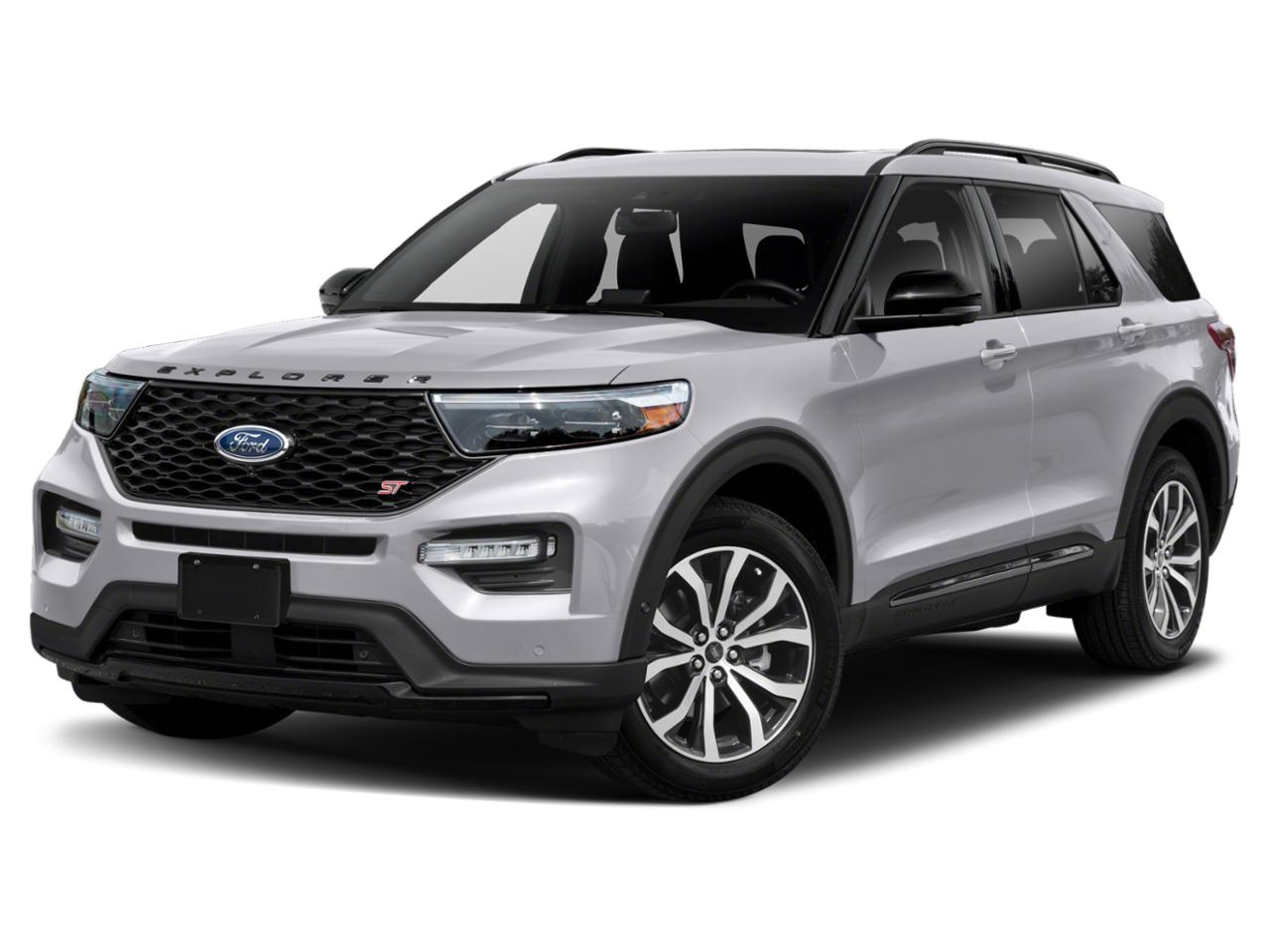 Silver Metallic 2020 Ford Explorer  SUV Raleigh NC