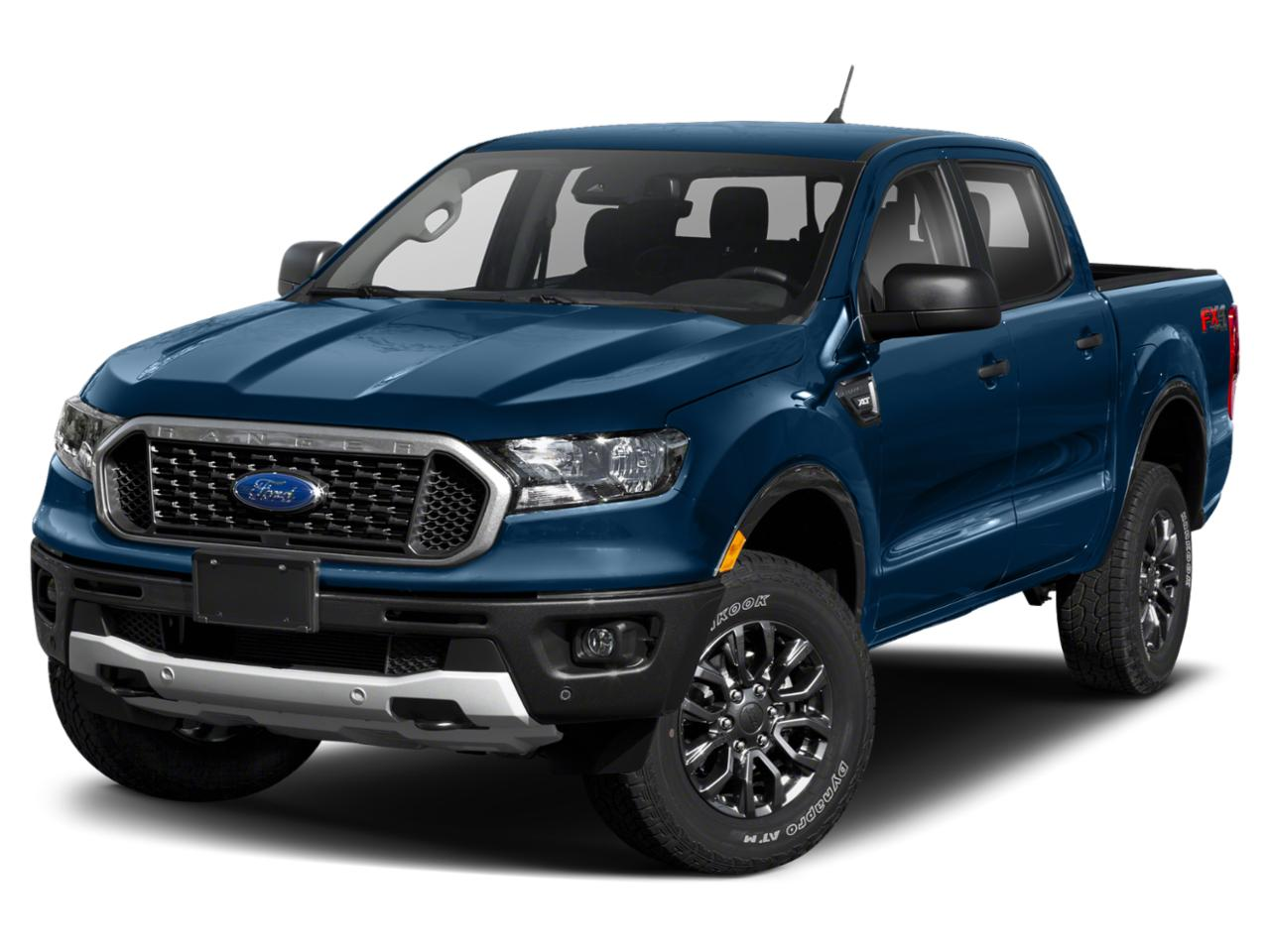 Lightning Blue 2020 Ford Ranger XLT 4x4 XLT 4dr SuperCrew 5.1 ft. SB Pickup New Bern NC