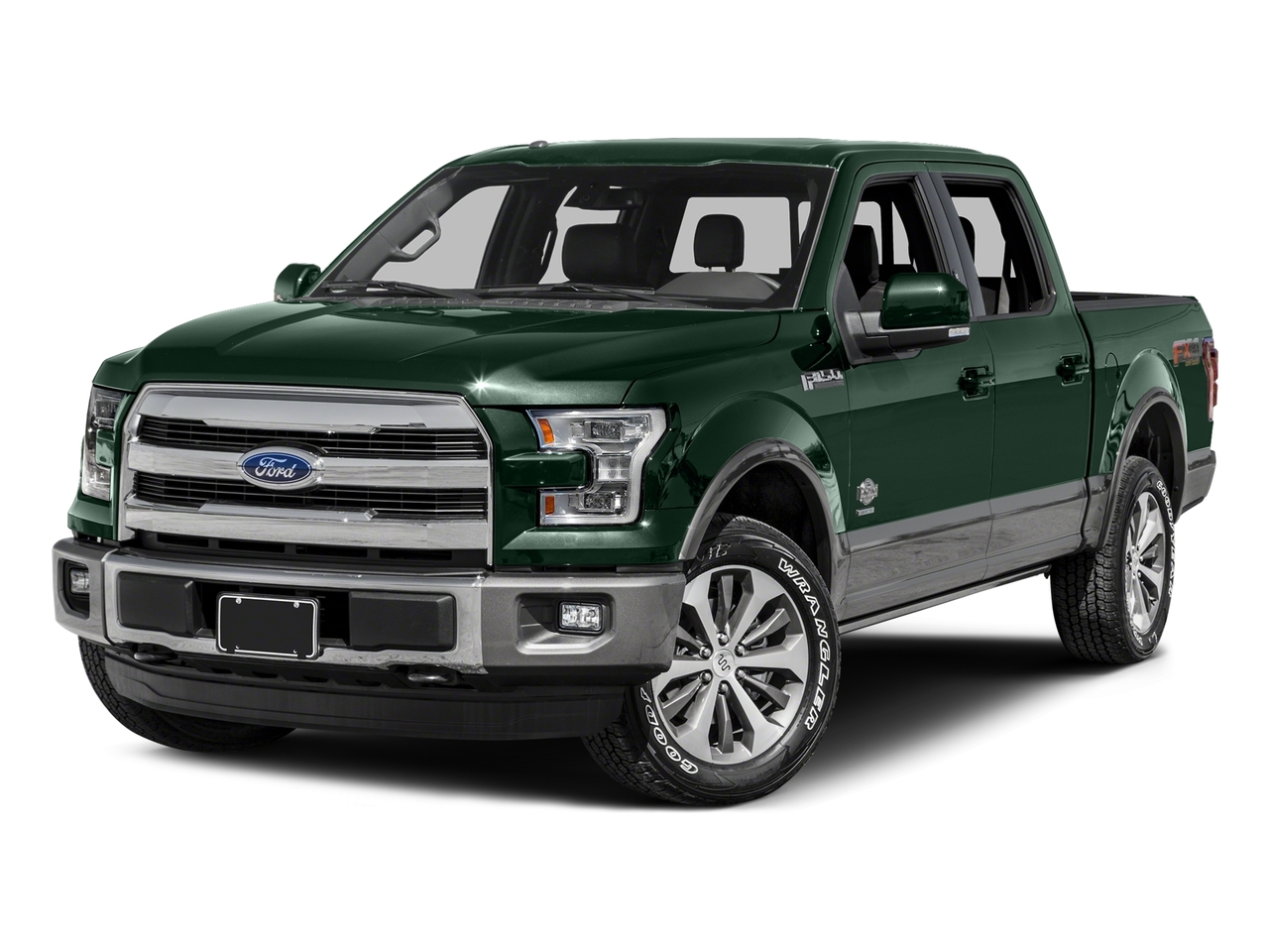2015 Ford F-150 KING RANCH Crew Cab Pickup Slide