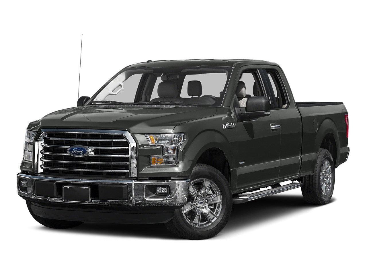 Magnetic Metallic 2015 Ford F-150 XLT Extended Cab Pickup Raleigh NC
