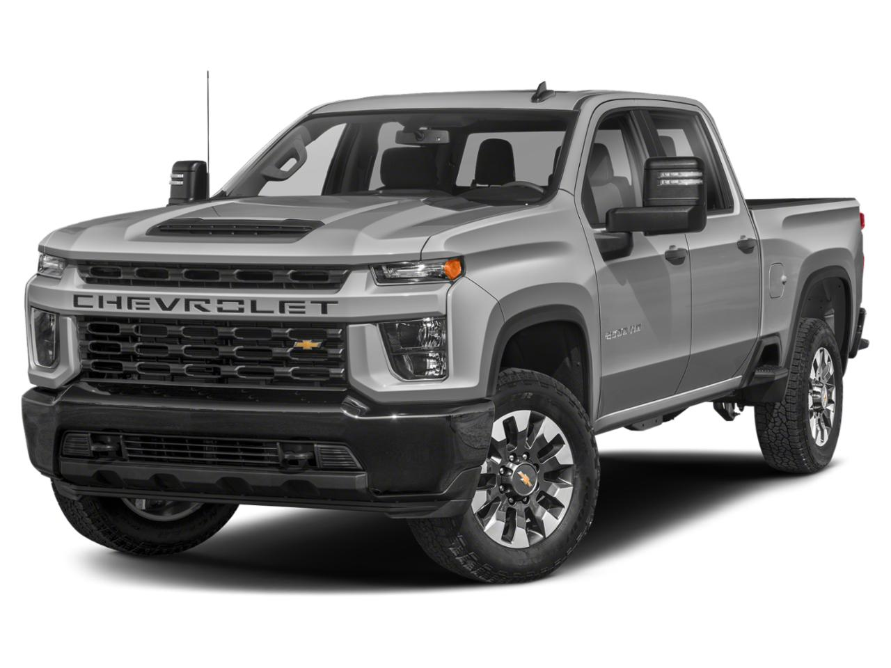 Silver Ice Metallic 2020 Chevrolet Silverado 2500HD WORK TRUCK Crew Cab Pickup Lexington NC