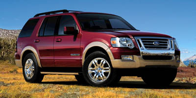 Used 2008  Ford Explorer 4d SUV 4WD Eddie Bauer V6 at Car Zone Sales near Otsego, MS