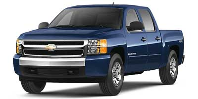 Used 2008  Chevrolet Silverado 1500 4WD Crew Cab LT1 at Carriker Auto Outlet near Knoxville, IA