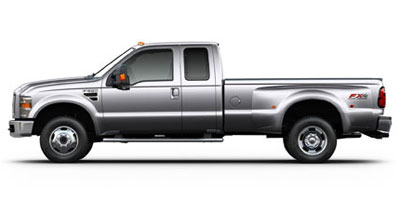 Used 2009  Ford F250 4WD Supercab FX4 at Auto Finance King near Taylor, MI