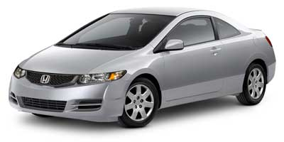 Used 2010  Honda Civic Coupe 2d LX Auto at Car Country near Aurora, IN