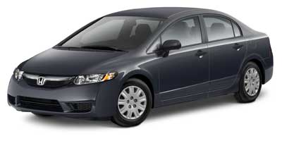 2010 Honda Civic DX-VP  - F9145A