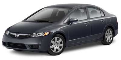2010 Honda Civic LX  - 13038X