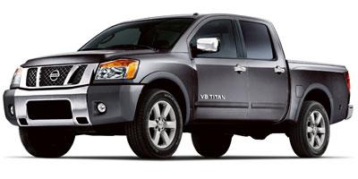 Used 2012  Nissan Titan 4WD Crew Cab SL at Houdek Auto Center near Marion, IA