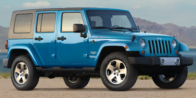 Used 2010  Jeep Wrangler Unlimited 4d Convertible 4WD Sahara at Houdek Auto Center near Marion, IA