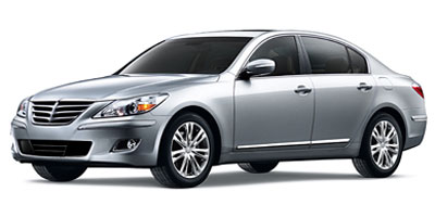 Used 2010  Hyundai Genesis 4d Sedan 4.6L at Credit Now Auto Inc near Huntsville, AL