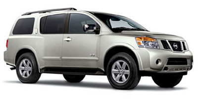 2011 Nissan Armada SV 4WD  for Sale  - 10307  - Pearcy Auto Sales