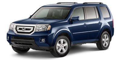 Used 2011  Honda Pilot 4d SUV 4WD EX-L w/Nav at Credit Now Auto Inc near Huntsville, AL