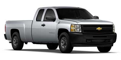 2012 Chevrolet Silverado 1500 Work Truck 2WD Extended Cab  - 11186