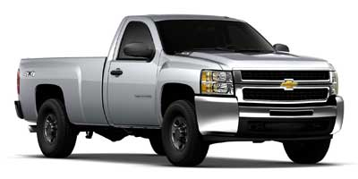 Used 2010  Chevrolet Silverado 2500 4WD Reg Cab Work Truck at Poulin Auto Sales near Barre, VT