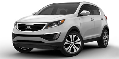 Used 2012  Kia Sportage 4d SUV AWD EX at Graham Auto Mall near Mansfield, OH