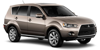 Used 2012  Mitsubishi Outlander 4d SUV AWD SE at Car Zone Sales near Otsego, MS