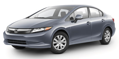 2012 Honda Civic LX  - F9254A