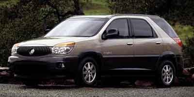 Used 2002  Buick Rendezvous 4d SUV FWD CX at Good Wheels Calcutta near East Liverpool, OH