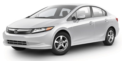 2012 Honda Civic CNG  for Sale  - F8360A  - Fiesta Motors