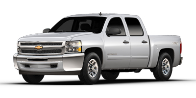 Used 2013  Chevrolet Silverado 1500 4WD Crew Cab LS at Carriker Auto Outlet near Knoxville, IA