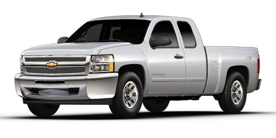 Used 2013  Chevrolet Silverado 1500 4WD Ext Cab LS at Carriker Auto Outlet near Knoxville, IA