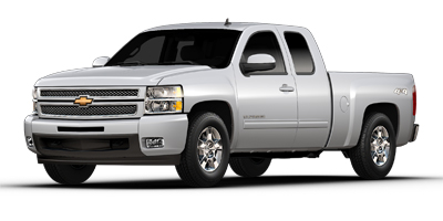 Used 2013  Chevrolet Silverado 1500 4WD Ext Cab LTZ at Poulin Auto Sales near Barre, VT