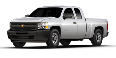 Used 2013  Chevrolet Silverado 1500 4WD Ext Cab Work Truck at Bill Fitts Auto Sales near Little Rock, AR