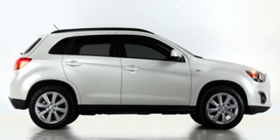 Used 2013  Mitsubishi Outlander Sport 4d SUV AWD LE at Charbonneau Car Center near Dickinson, ND
