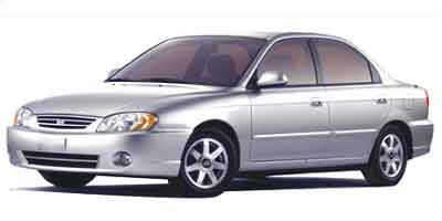 Used 2002  Kia Spectra 4d Sedan LS MT at Car Zone Sales near Otsego, MI