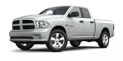 Used 2015  Ram 1500 4WD Quad Cab Express at Carriker Auto Outlet near Knoxville, IA