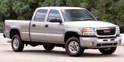Used 2003  GMC Sierra 2500 4WD Crew Cab HD SLT Longbed at Naples Auto Sales near Vernal, UT