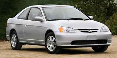 Used 2003  Honda Civic Coupe 2d EX AT at CarCo Auto World near South Plainfield, NJ