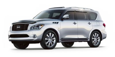 Used 2014  Infiniti QX80 4d SUV AWD at Houdek Auto Center near Marion, IA