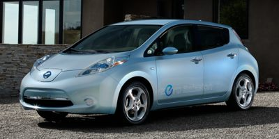 Used 2014  Nissan Leaf 4d Hatchback SL at CarTopia near Kyle, TX