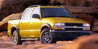 2003 Chevrolet S10 LS 4WD Crew Cab  - R5396A