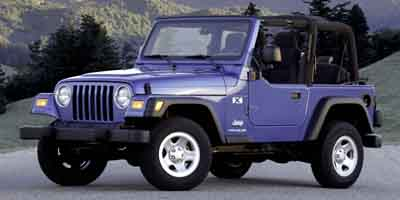 Used 2004  Jeep Wrangler 2d Convertible X at Auto Finance King near Taylor, MI