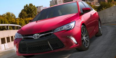 Used 2017  Toyota Camry 4d Sedan SE at The Gilstrap Family Dealerships near Easley, SC