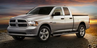 Used 2014  Ram 1500 4WD Quad Cab Laramie at Carriker Auto Outlet near Knoxville, IA