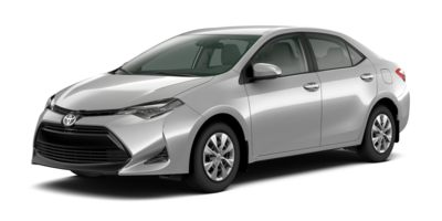 Used 2017  Toyota Corolla 4d Sedan LE at Carriker Auto Outlet near Knoxville, IA