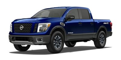 Used 2017  Nissan Titan 4WD Crew Cab PRO-4X at Graham Auto Mall near Mansfield, OH