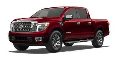 Used 2017  Nissan Titan 4WD Crew Cab Platinum Reserve at Al West Nissan near Rolla, MO