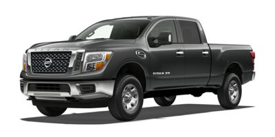Used 2017  Nissan Titan XD 4WD Crew Cab SV Diesel at The Gilstrap Family Dealerships near Easley, SC