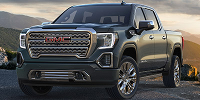 New 2020  GMC Sierra 1500 4WD Crew Cab SLT at Charbonneau Car Center near Dickinson, ND