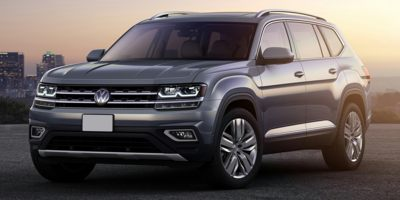 Used 2019  Volkswagen Atlas 4d SUV 3.6L SE Technology at The Gilstrap Family Dealerships near Easley, SC