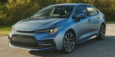 Used 2020  Toyota Corolla 4d Sedan LE at The Gilstrap Family Dealerships near Easley, SC