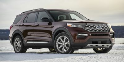 Used 2020  Ford Explorer 4d SUV 4WD Limited 2.3L EcoBoost at Car Country near Aurora, IN