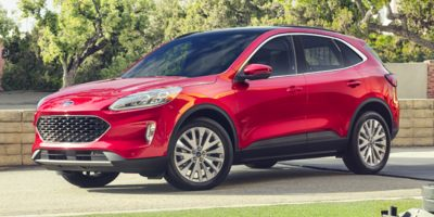 New 2020  Ford Escape Hybrid 4d SUV AWD Titanium at CreditNetworkUSA near Mayfield Heights, OH