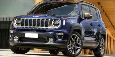 New 2020  Jeep Renegade 4d SUV 4WD Latitude at Charbonneau Car Center near Dickinson, ND