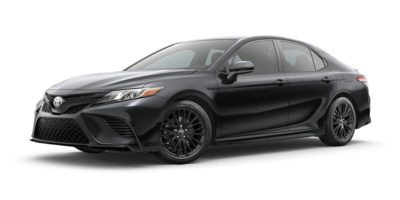 Used 2020  Toyota Camry 4d Sedan SE Nightshade at The Gilstrap Family Dealerships near Easley, SC