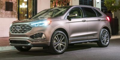 Used 2020  Ford Edge 4d SUV AWD Titanium at Motor City Auto Brokers near Taylor, MI